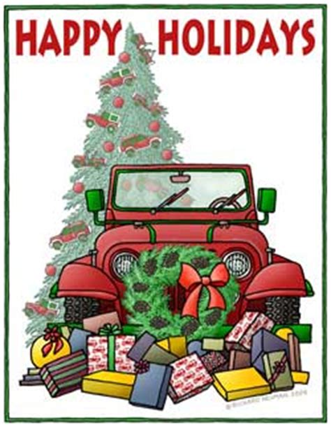 christmas jeep card merry christmas off road forums discussion groups