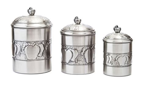 Kitchen Canisters Pewter by Farmhouse Kitchen Canister Sets And Farmhouse Kitchen