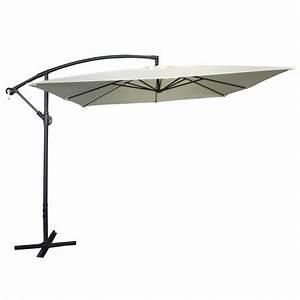 Parasol Déporté Carré : parasol d port beige pas cher ~ Mglfilm.com Idées de Décoration