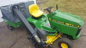 48in John Deere Lx188 Heavy Duty Riding Lawn Tractor W