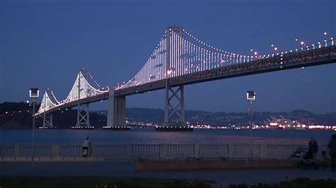 bay bridge lights bay bridge light installation set to return in january