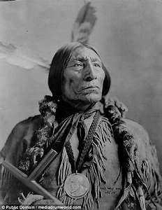 Cheyenne Indians shown before and after in pictures ...