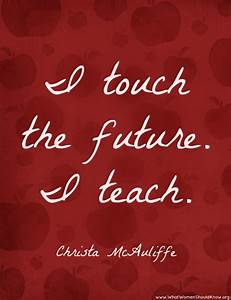 Christa McAuliffe Quotes. QuotesGram