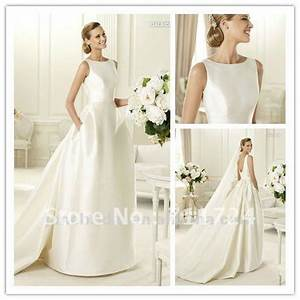 wedding dress high neck low back images With high back wedding dress