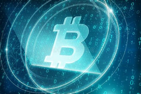 Can you send bitcoin from coinjar to your own wallet. Blue bitcoin backdrop stock illustration. Illustration of abstract - 104254149