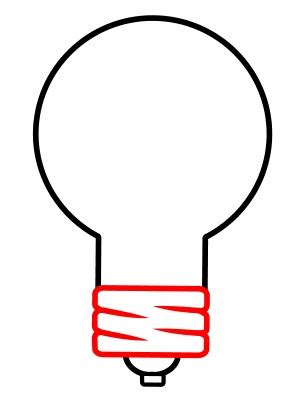 How To Draw A Light Bulb by Drawing A Light Bulb