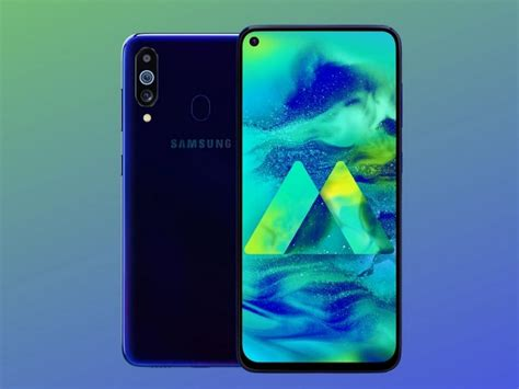 samsung galaxy m40 samsung galaxy m40 featuring an infinity o display to arrive in india 11 june technology