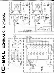 Icom Ic 2kl Ps Schematic Diagram