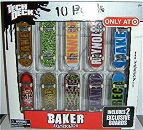 Tech Deck Skatepark Target by Tech Deck 10 Pack Baker Skateboards Quot Only At