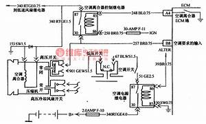 The Fault Detection Circuit Of Daewoo Espero Air