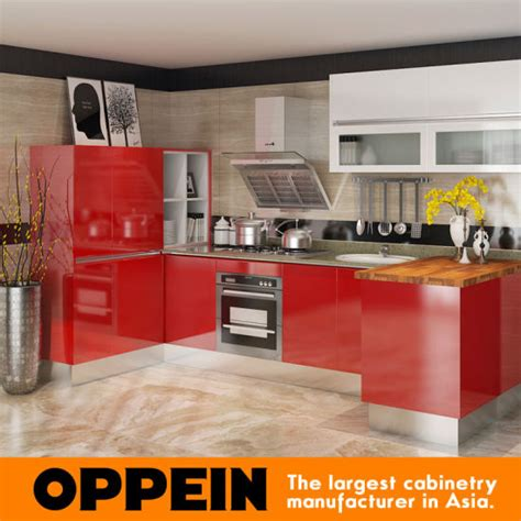 Beste Rote Kuche by China Oppein Besten Grand Moderne Rote Lack K 252 Che M 246 Bel