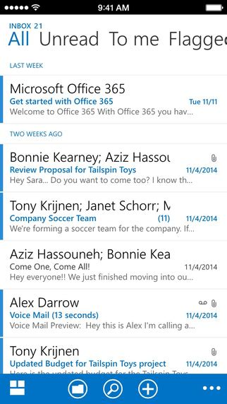 microsoft readies managed outlook apps  ios  android