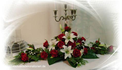 altargesteck lilien lang hochzeitsdekorationen
