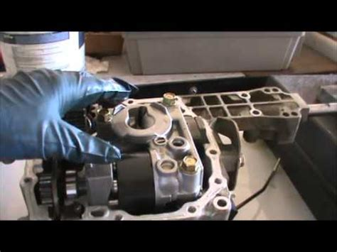 tractor hydro transmission rebuild part  youtube
