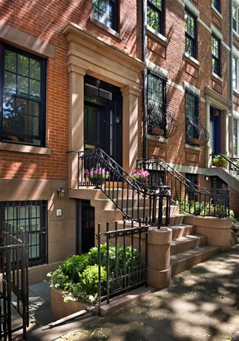 green street  chic brooklyn heights greek revival