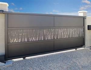 Modele De Portail Coulissant : portails sur mesure sg concept ~ Premium-room.com Idées de Décoration