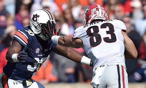 Game time, TV network decided for Auburn versus Georgia ...
