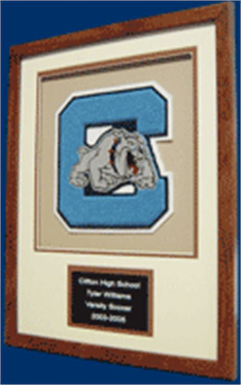 shadow boxes varsity letter display chenille letter frame award letter display letterman
