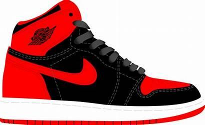 Jordan Shoe Clipart Converse Transparent History Shoes
