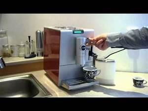 Jura Impressa J85 : jura ena 7 p prava cappuccino youtube ~ Frokenaadalensverden.com Haus und Dekorationen