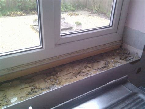 how to tile a kitchen window sill creating window sill boxing on which to tile diynot forums 9583