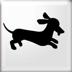 printable dachshund outline template  printabletreats