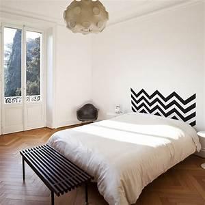 tete lit peinture mur picslovin With peindre tete de lit mur