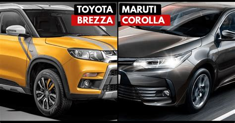 badge engineering toyota brezza maruti corolla