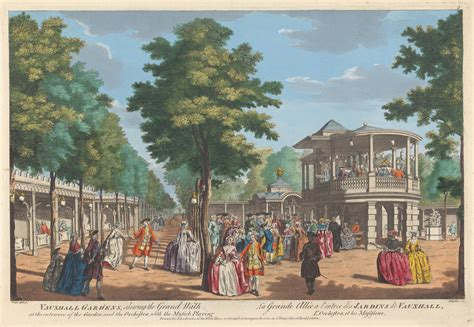 vauxhall gardens london the city metric a brief history of london in poetry