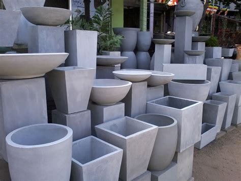 Cement Pots And Planters