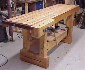 Building a Wood Workbench for Woodworking