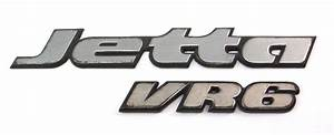 Trunk Emblem Badge 95-99 Vw Jetta Glx Vr6 Mk3