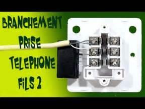 schema branchement prise telephone adsl doovi