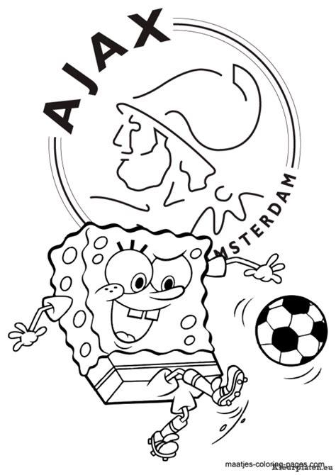 Kleurplaat Voetbalstadion by Ajax Kleurplaten Kleurplaten Eu
