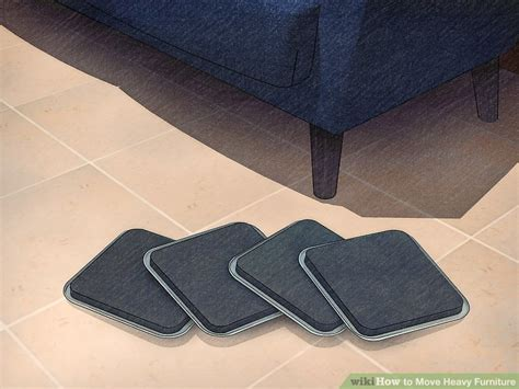 Sliders For Heavy Furniture by 3 Ways To Move Heavy Furniture Wikihow