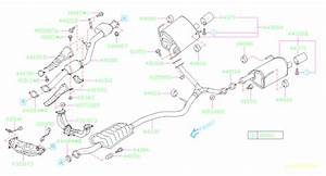 Subaru Forester Sensor Assembly-air  Fuel Ratio  Exhaust  Muffler  Engine  Cooling