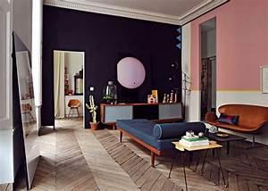 Maison Année 50 : un appartement parisien au d cor ann es 50 marie claire ~ Voncanada.com Idées de Décoration