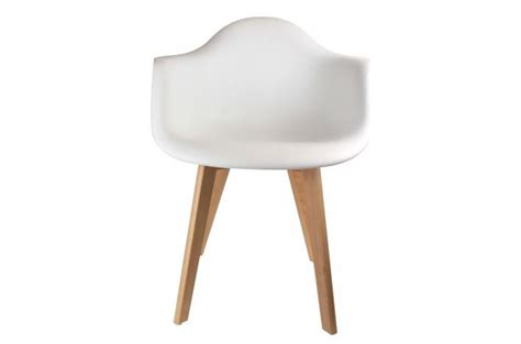 Chaise Enfant Avec Accoudoirs Scandinave Blanc Baby Norway