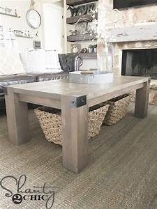 modern farmhouse coffee table and how to video shanty 2 chic With modern chic coffee table