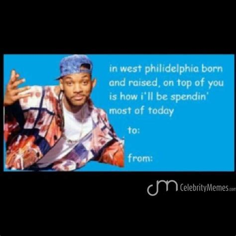 Funny Valentines Day Cards Meme - who s your valentine valentine s day love will smith likerup celebritymemes funnymemes