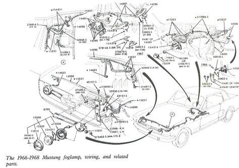1967 Ford Mustang Wire Harnes Diagram by Free Auto Wiring Diagram 1966 1968 Mustang Fogl Wiring