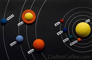Styrofoam Solar System Project - Pics about space