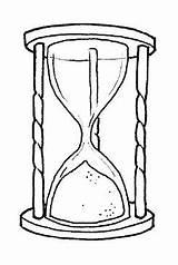 Clessidra Disegni Oggetti Hourglass Sanduhr Coloring Reloj Colorare Arena Disegno Relojes Colorear Bambini Misti Orologio Immagini Malvorlage Gratis Malvorlagen Clepsidra sketch template