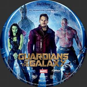 Guardians Of The Galaxy - Custom DVD Labels - Guardians of ...