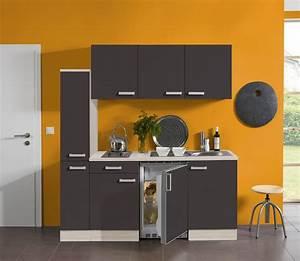 Küche 180 Cm : singlek che barcelona mit elektro kochfeld 9 teilig breite 180 cm grau k che singlek chen ~ Watch28wear.com Haus und Dekorationen