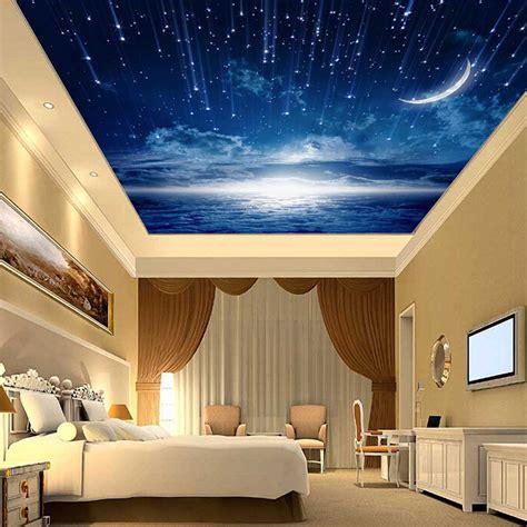 bedroom ceiling    night sky