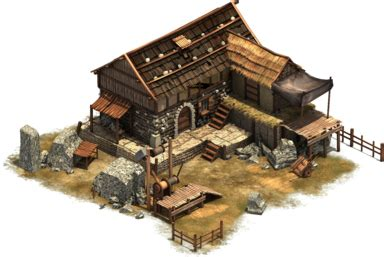 fruehes mittelalter guetergebaeude forge  empires