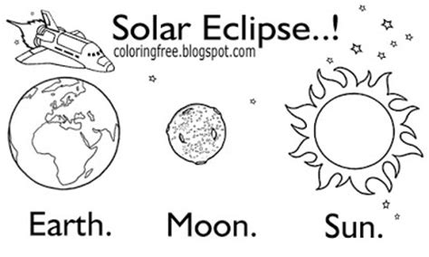 90 coloring pages eclipse solar eclipse 2017 free