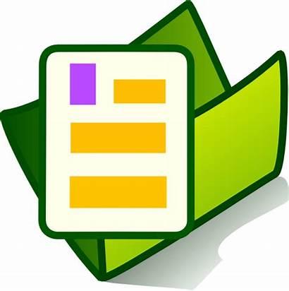 Clip Clker Folder Document Documents