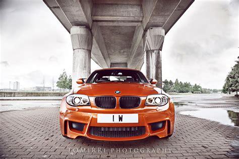 valencia orange bmw  photoshoot